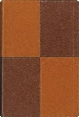 NIV Largeprint, Thinline, Reference Bible Caramel/Chocolate Duo-Tone  -
