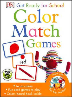 Get Ready For School: Color Match Games  -