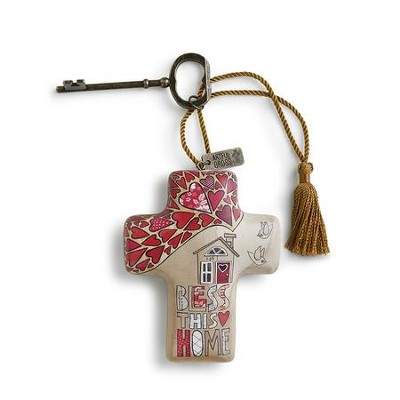 Bless This Home, Artful Cross  -     By: Susan Black