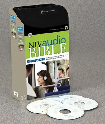 NIV Audio Bible, Dramatized, Audio CD, Unabridged  -