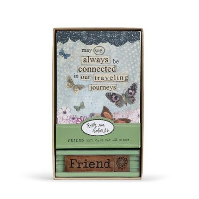 Friend Boxed Card Set  -     By: Kelly Rae Roberts