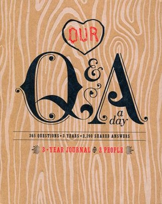 Our Q and A a Day: 3-Year Journal for 2 People   -     By: Alexandra Franzen