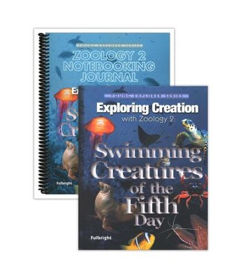 Exploring Creation with Zoology 2: Swimming Creatures of the Fifth Day Advantage Set (Notebooking Journal)  -     By: Jeannie Fulbright