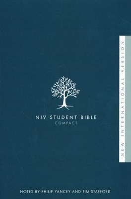 NIV Student Bible, Compact, Softcover  - Slightly Imperfect  -