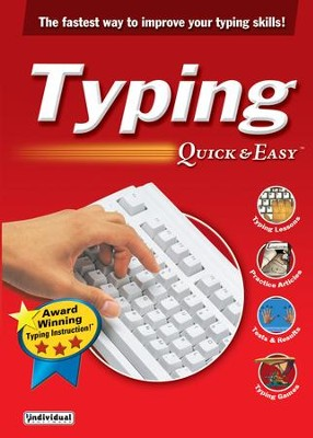 Typing Quick & Easy 17.0 on CD-ROM   -