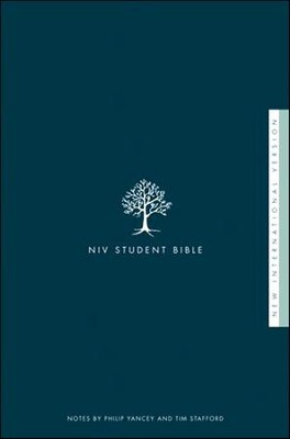 NIV Student Bible, Softcover  - Slightly Imperfect  -