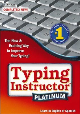 Typing Instructor Platinum on CD-ROM   -
