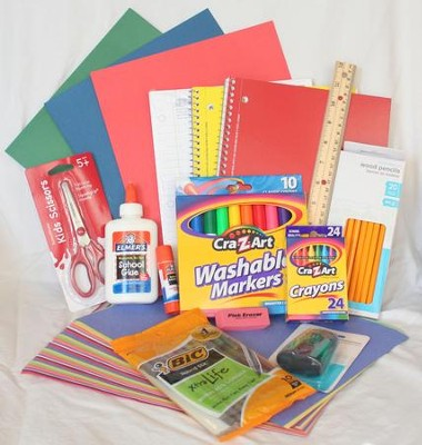 Back-To-School Elementary Grades Supply Kit   -