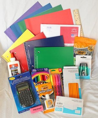 Back-To-School Jr. High & High-School Supply Kit   -