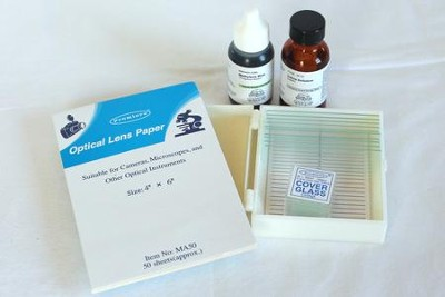 Make-Your-Own Microscope Slide Set   -