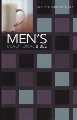 NIV Men's Devotional Bible, Hardcover, Black  -