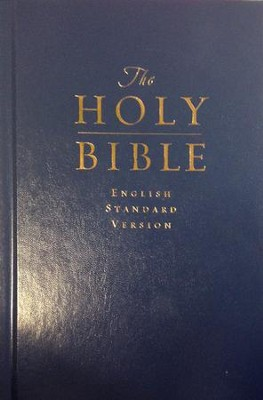 ESV Pew & Worship Bible, Hardcover, Blue  -     By: Bible