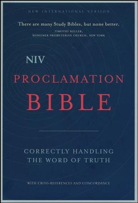 NIV Proclamation Bible  -