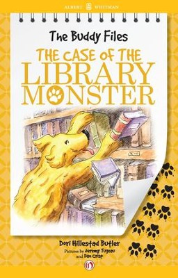 The Case of the Library Monster - eBook  -     By: Dori Hillestad Butler     Illustrated By: Jeremy Tugeau, Dan Crisp