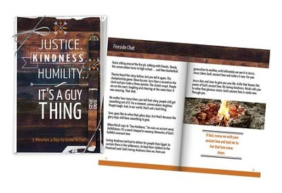Justice, Kindness, Humility Book and Pen Set  -