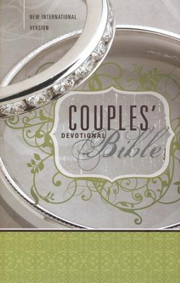 NIV Couples' Devotional Bible - Slightly Imperfect  -