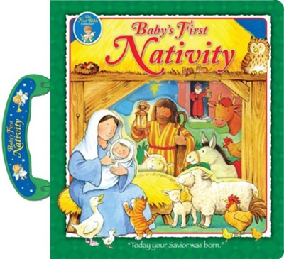 Baby's First Nativity: Carry Along  -     By: Muff Singer     Illustrated By: Peter Stevenson