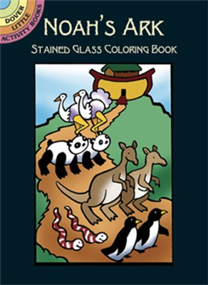 Noah's Ark Stained Glass Coloring Book  -     By: Cathy Beylon