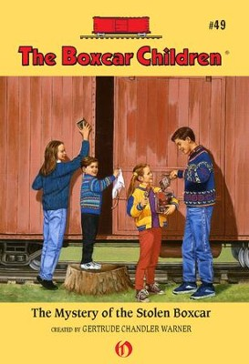 The Mystery of the Stolen Boxcar - eBook  -     By: Gertrude Chandler Warner     Illustrated By: Charles Tang