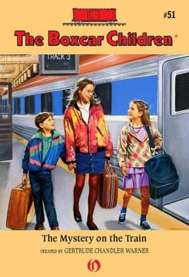 The Mystery on the Train - eBook  -     By: Gertrude Chandler Warner     Illustrated By: Charles Tang