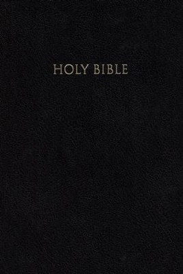 NIV Reference Bible, Giant Print, Black  -