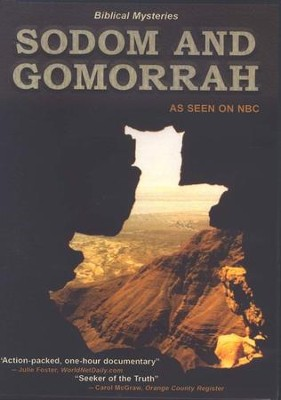 Biblical Mysteries: Sodom and Gomorrah DVD   -