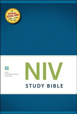 NIV Study Bible, Hardcover - Imperfectly Imprinted Bibles  -