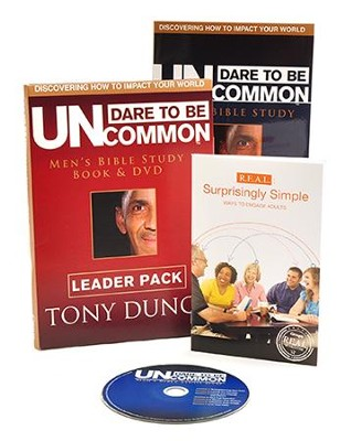 Dare to Be Uncommon: Leader Pack(Book & DVD)  -     By: Tony Dungy