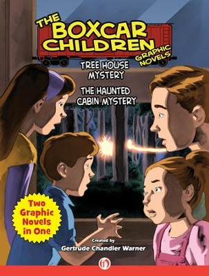 Tree House Mystery & The Haunted Cabin Mystery - eBook  -     By: Gertrude Chandler Warner     Illustrated By: Mark Bloodworth, Christopher E. Long