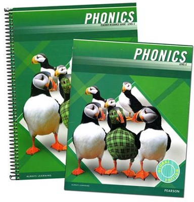 Plaid Phonics Level C Homeschool Bundle (2011 Copyright)  -