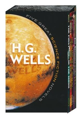 Five Great Science Fiction Novels: H.G. Wells Boxed Set, 5 Volumes  -     By: H.G. Wells