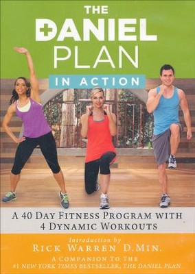 The Daniel Plan, In Action Workout DVD's    -     By: Rick Warren