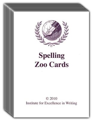 Excellence in Spelling: Zoo Cards   -