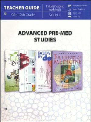Advanced Pre-Med Teacher Guide   -
