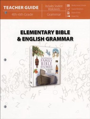 Elementary Bible & English Grammar (Teacher Guide)   -