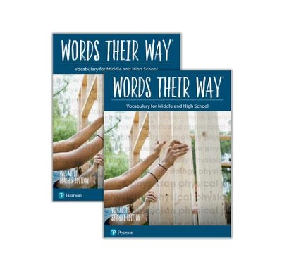 Words Their Way: Vocabulary for Middle and High School Volume 2 Homeschool  Bundle