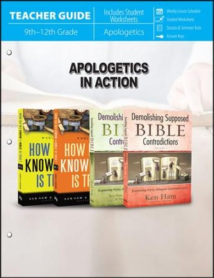 Apologetics in Action - Teacher Guide   -