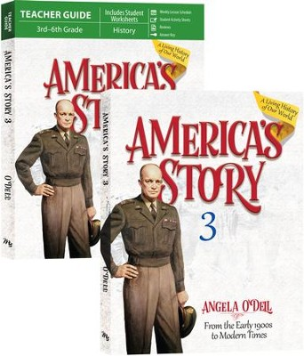 America's Story Volume 3 Set   -     By: Angela O'Dell