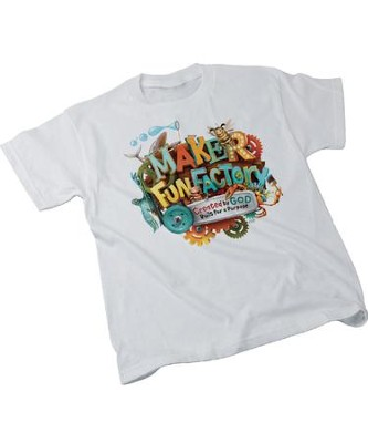 Maker Fun Factory VBS: Theme Child T-shirt (large, 14-16)   -