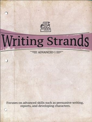 Writing Strands Advanced 1  -     By: Dave Marks
