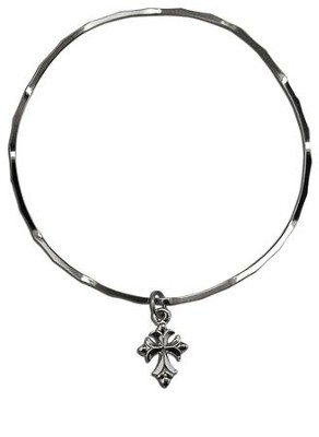 Flair Cross Stackable Bracelet  -