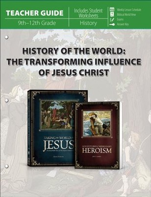 History of the World: The Transforming Influence of  Jesus Christ Teacher's Guide  -     By: Kevin Swanson