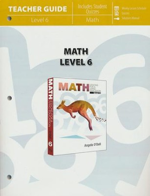 Math Lessons For A Living Education Level 6 Teacher Guide  -     By: Angela O'Dell