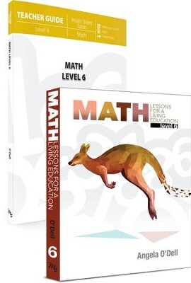 Math Lessons Level 6 Pack, 2 Volumes   -     By: Angela O'Dell