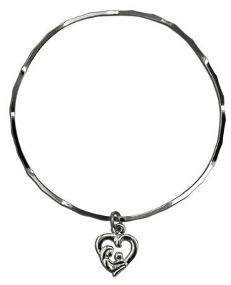 Mother and Child Stackable Bracelet  -