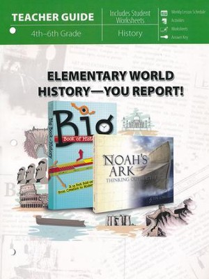 Elementary World History - You Report! Teacher Guide   -     By: Laura Welch