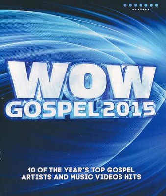 WOW Gospel 2015 DVD  -     By: Various Artists