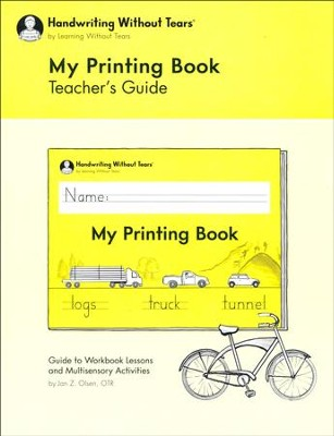 My Printing Book Teacher's Guide (2018 Edition)   -