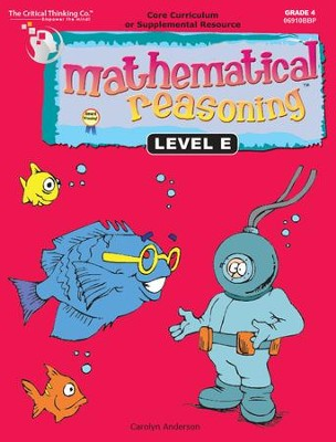 Mathematical Reasoning Level E, Grade 4   -