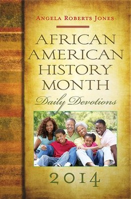 African American History Month Daily Devotions 2014 - eBook  -     By: Angela Roberts Jones